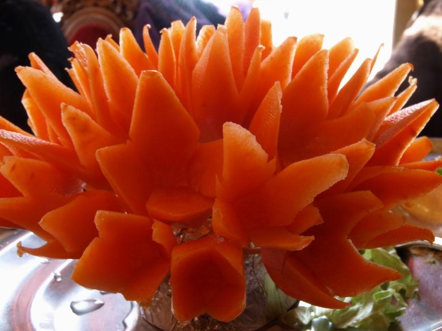 Restaurant indien la petite chronique de lilli - Decoration des plats en cuisine ...