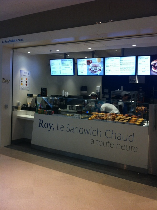 Roy sandwich chaud
