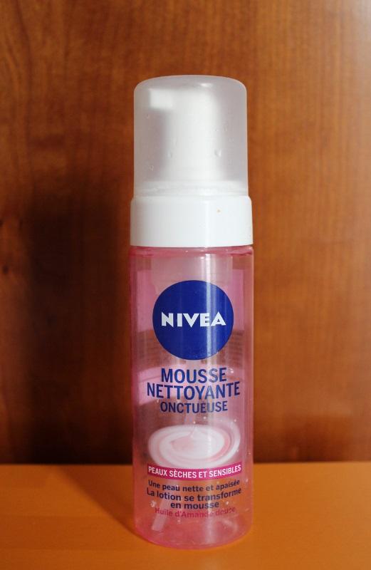Mousse nettoyante visage Nivea