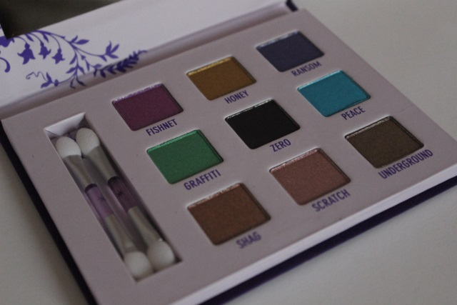palette deluxe urban decay