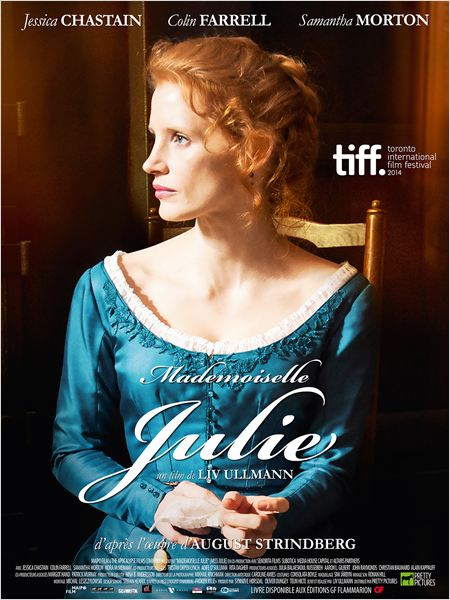 miss julie affiche