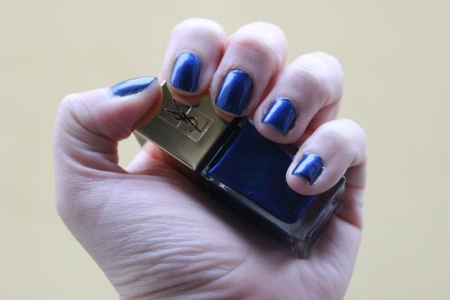 YSL Laque couture bleu cyclades