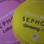 J'ai testé les masques en tissu de Séphora