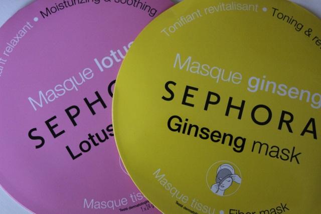 masques tissu sephora