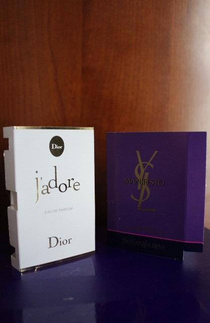 echantillons parfums