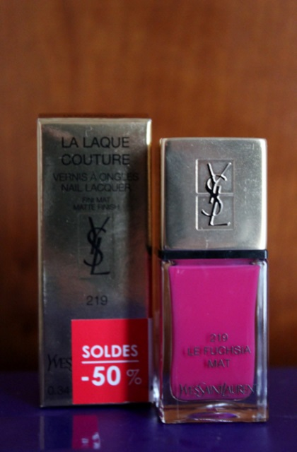 Vernis La Laque Couture Yves Saint-Laurent
