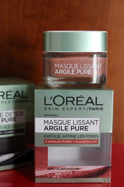 Masque à l'argile pure L'Oréal
