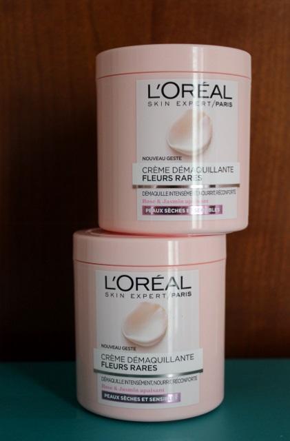 Crème démaquillante aux fleurs rares de L'Oréal