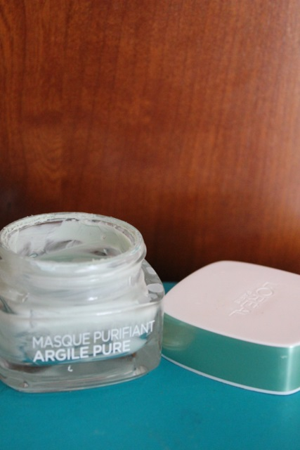 Masque Purifiant Argile Pure à l'eucalyptus de L'Oréal