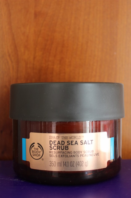 gommage aux sels de la mer morte The Body Shop