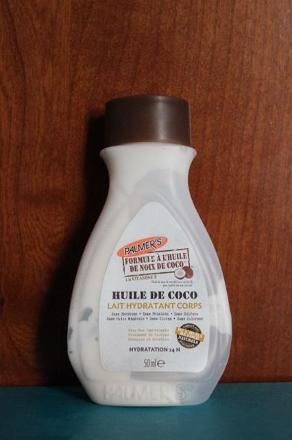 Lait hydratant corps à l'huile de coco Palmer's