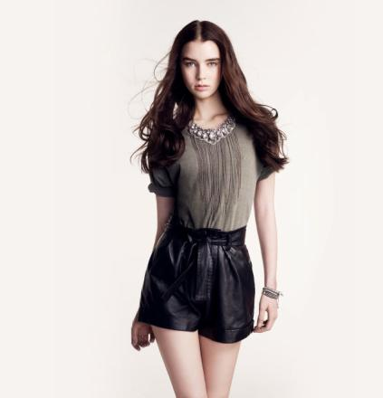 maje-short_cuir