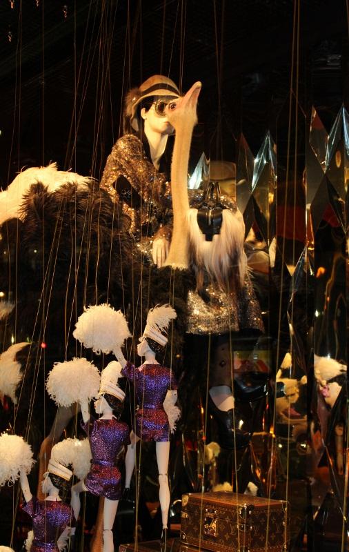 vitrines Galeries Lafayette Noel 2012