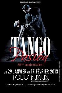 Tango Pasión Affiche