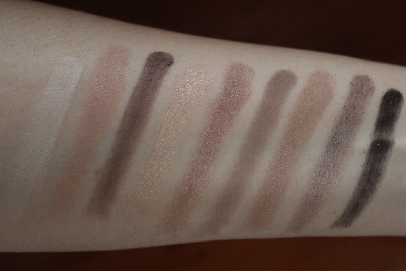 Swatch boudoir eyes too faced