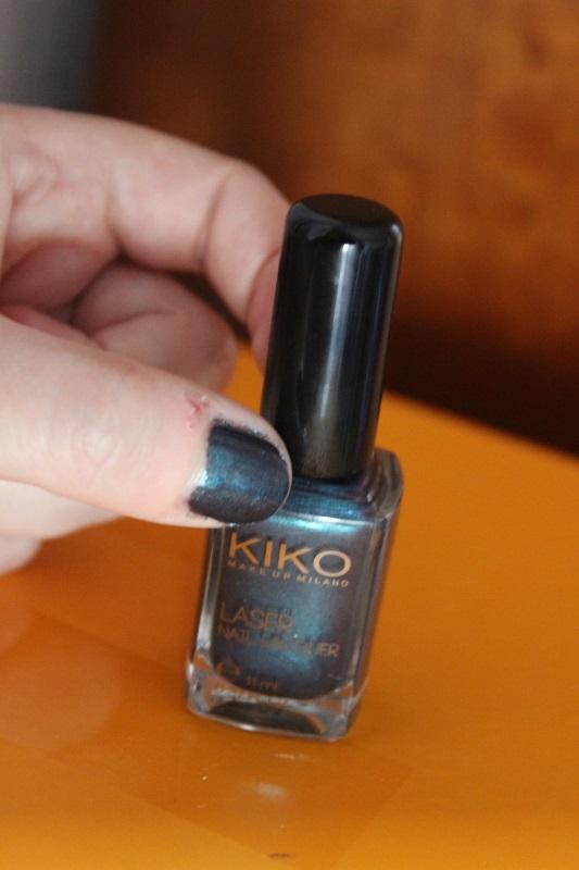 Kiko dark heroine collection 435 Venom Teal