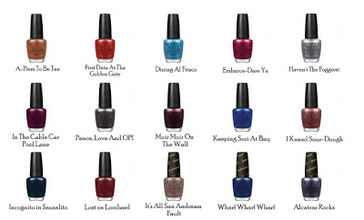 OPI SF Collection