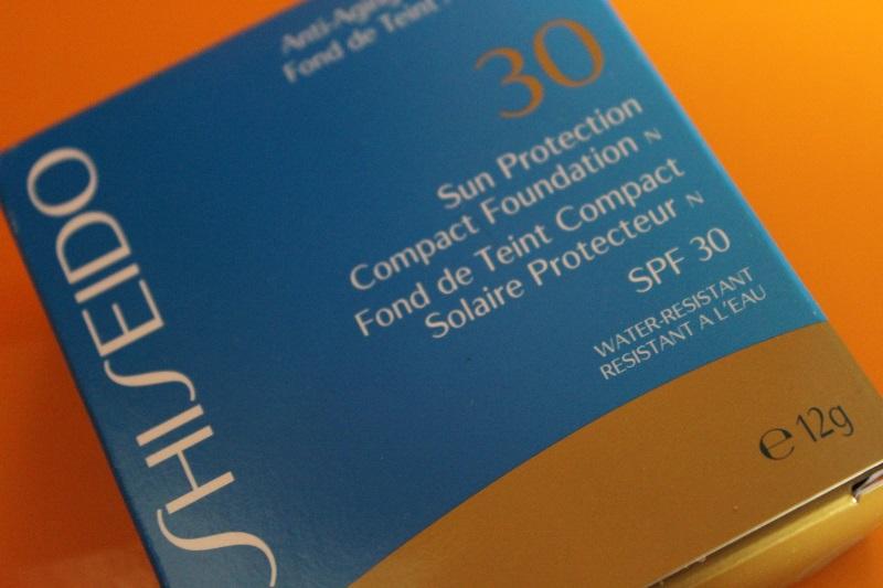 fond de teint compact solaire shiseido
