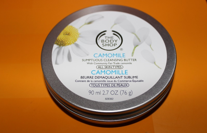 beurre demaquillant the body shop