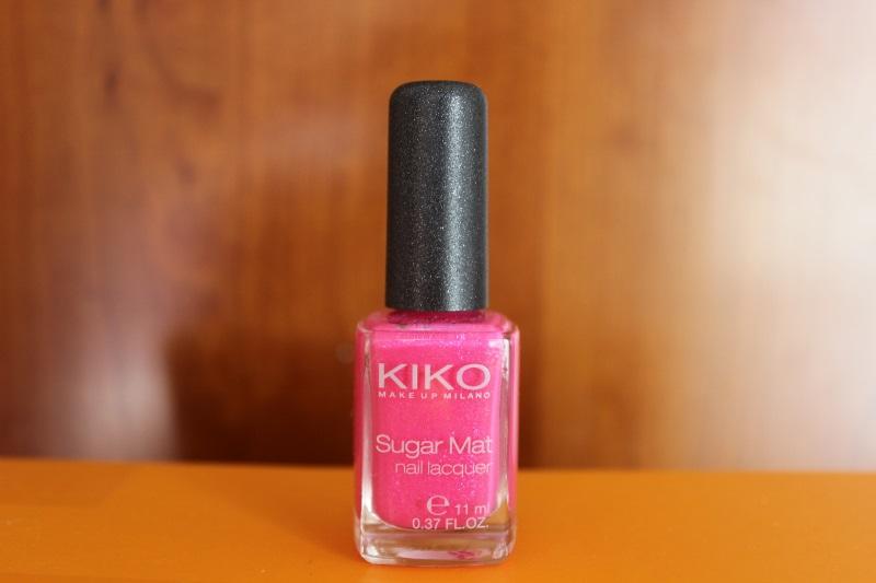 kiko sugar mat hot pink (2)
