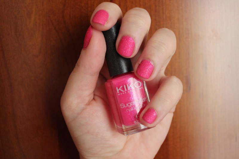 kiko sugar mat hot pink (3)