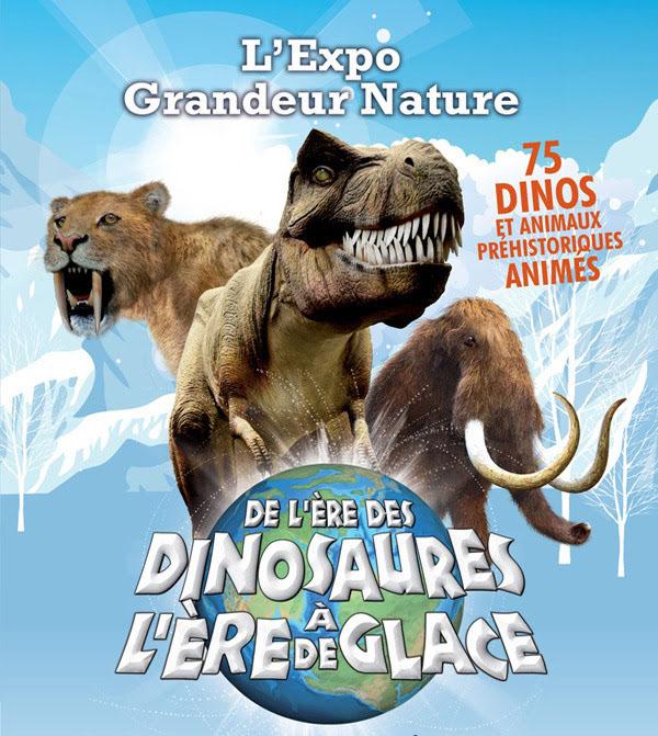 de l'ere des dinosaures à l'ere de glace
