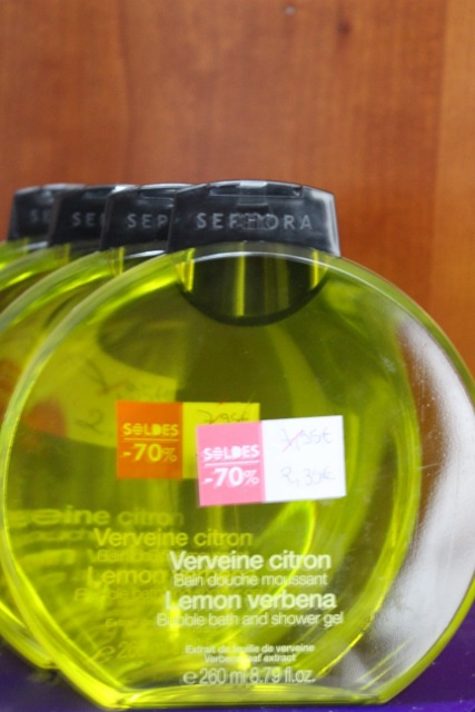 bain douche Séphora citron-verveine