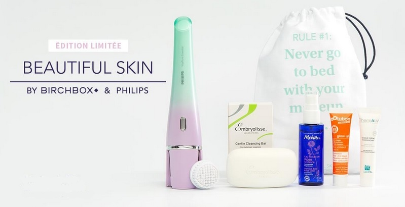 beautiful-skin birchbox x Philips