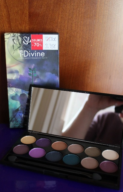 Palette I-Divine Force of Nature de Sleek