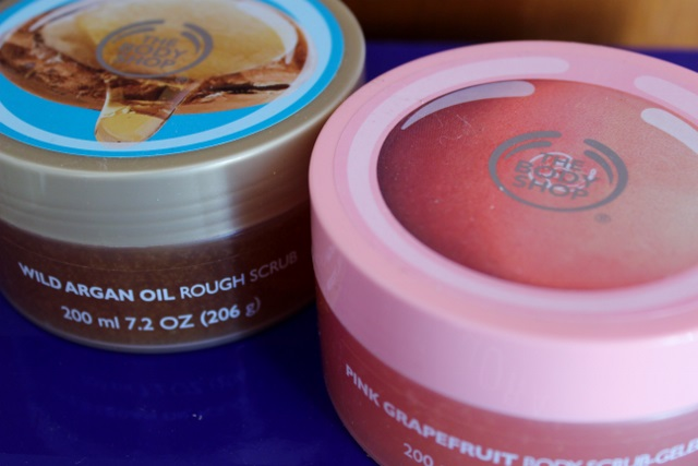 gommage corps the body shop